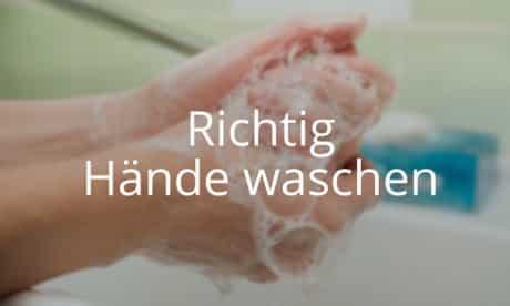 Kurs Richtig Hände waschen