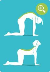 Übung für eine bessere Körperhaltung
