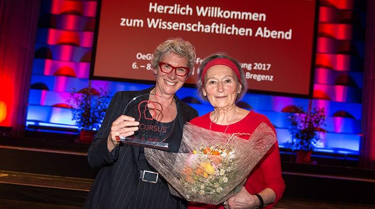 Dr. Iris Herscovici, selpers, und Elfi Jirsa, Myelom- und Lymphomhilfe Österreich