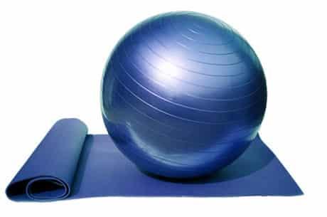 Gymnastik Ball ür Menschen mit rheumatoider Arthritis