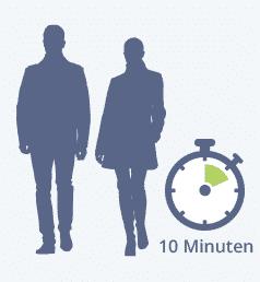 Lungenhochdruck: 10 Minuten Spaziergang