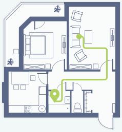 Lungenhochdruck: Vom Sofa ins Bad