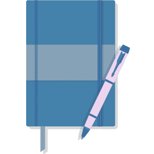 Tagebuch Illustration