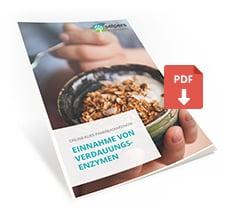 Einnahme von Verdauungsenzymen