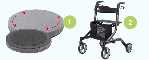 Rheumatoide Arthritis Helfer für das Gehen und Stehen