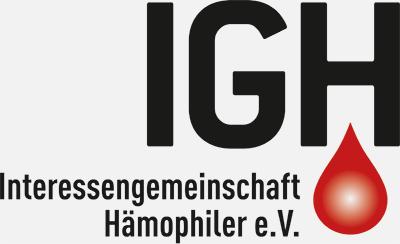 Logo Interessengemeinschaft Hämophiler e.V.