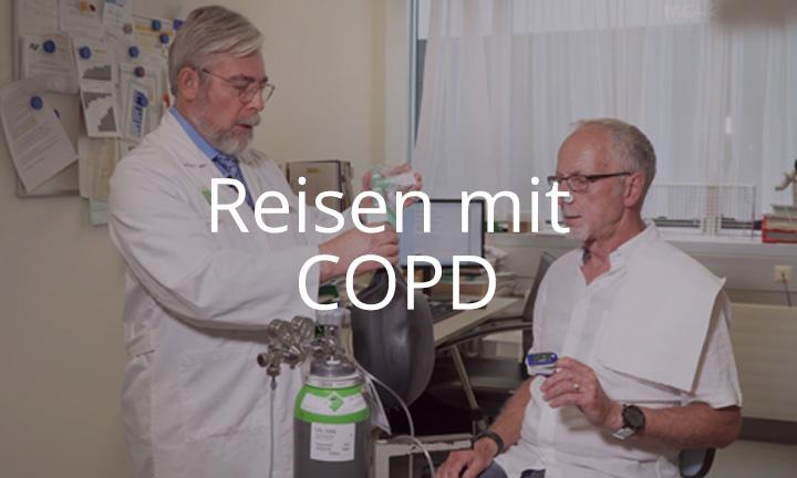 Reisen mit COPD