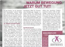 selpers im Magazin der österreichischen Rheumaliga September 2018