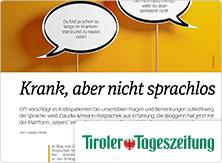 selpers in Tiroler Tageszeitung Januar 2019