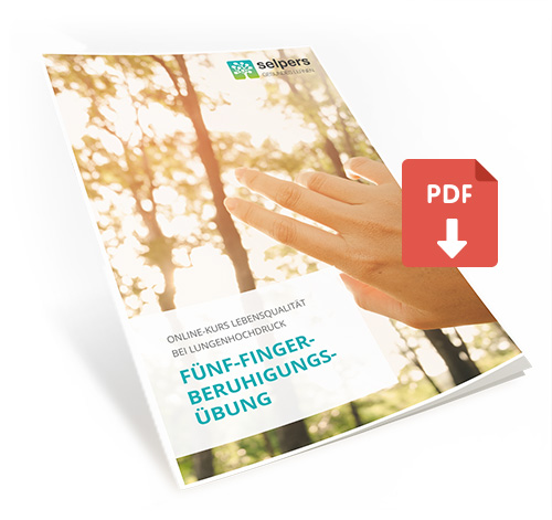 Fünf-Finger-Beruhigungsübung