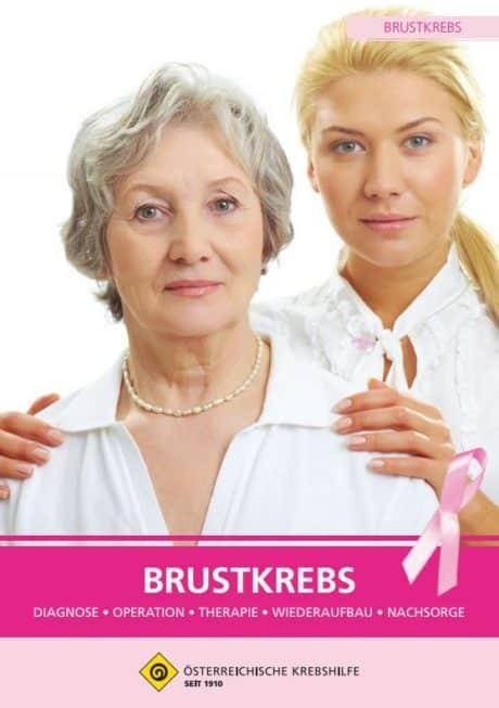 Broschüre Krebshilfe Brustkrebs