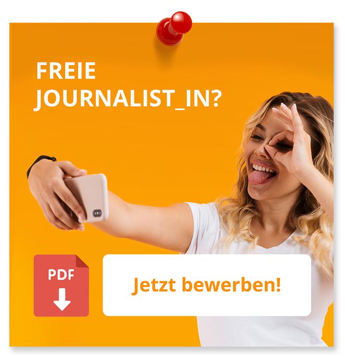 Freie Journalist_in? Jetzt Bewerben!