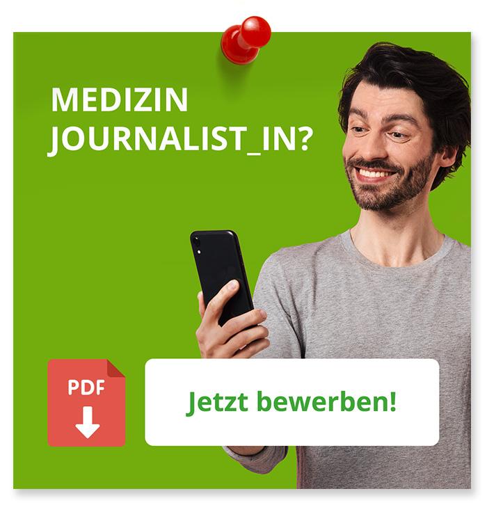 Medizin Journalist_in? Jetzt Bewerben!