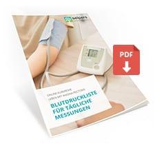 Blutdruckliste