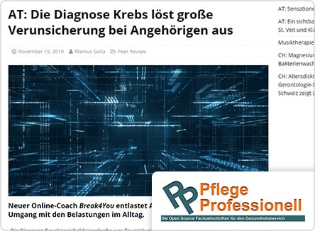 selpers in Pflege Professionell November 2019