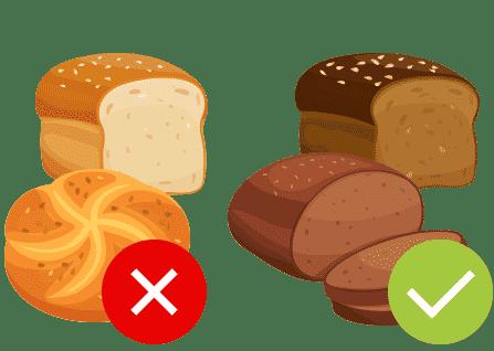 Essen Sie ballaststoffreich