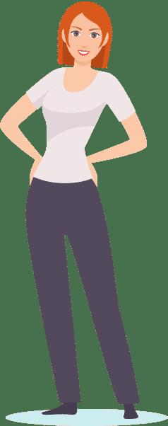 Übung: die aufrechte Haltung