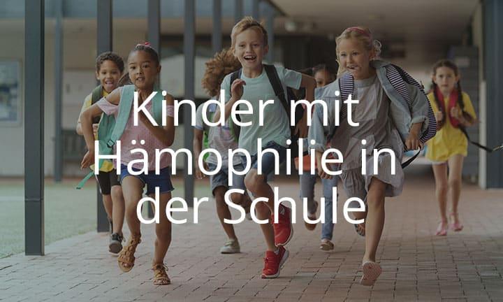 Kurs Kinder mit Hämophilie in der Schule