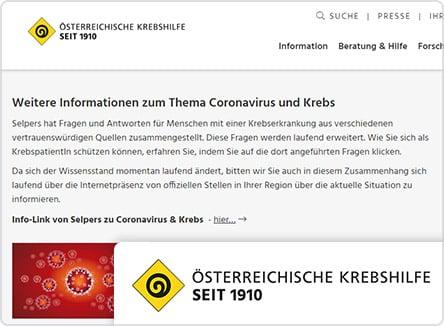 selpers in Österreichische Krebshilfe