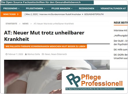 selpers in Pflege Professionell Februar 2020