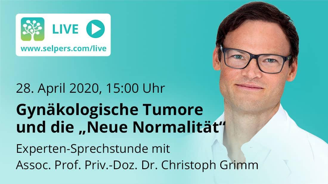 """Experten-Sprechstunde: Gynäkologische Tumore und die """"Neue Normalität"""""""