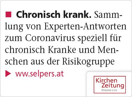 selpers in Kirchen Zeitung Linz