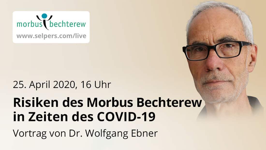 Vortrag: Risiken des Morbus Bechterew in Zeiten des COVID-19
