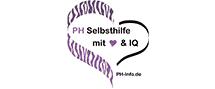 Logo PH Selbsthilfe mit Herz & IQ