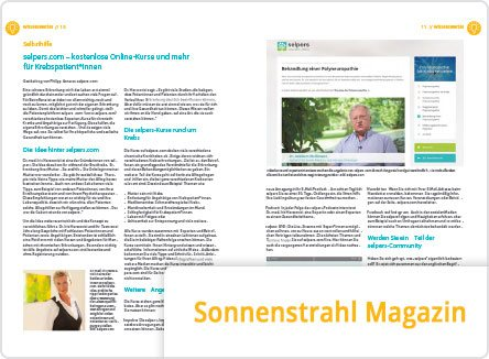 selpers-in-Sonnenstrahl Magazin April