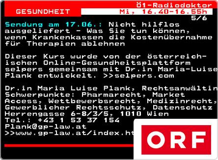 selpers im ORF Teletext Juni 2020