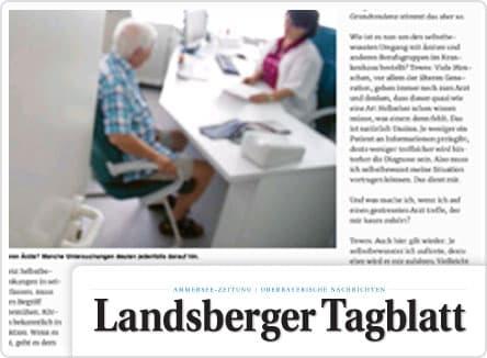 selpers in Landsberger Tagblatt