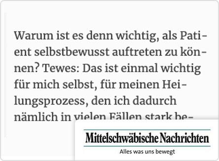 selpers in Mittelschwäbische Nachrichten