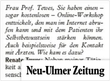 selpers in Neu-Ulmer Zeitung