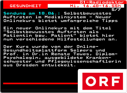 selpers in ORF Teletext