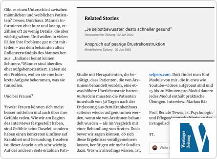 selpers in Wertinger Zeitung