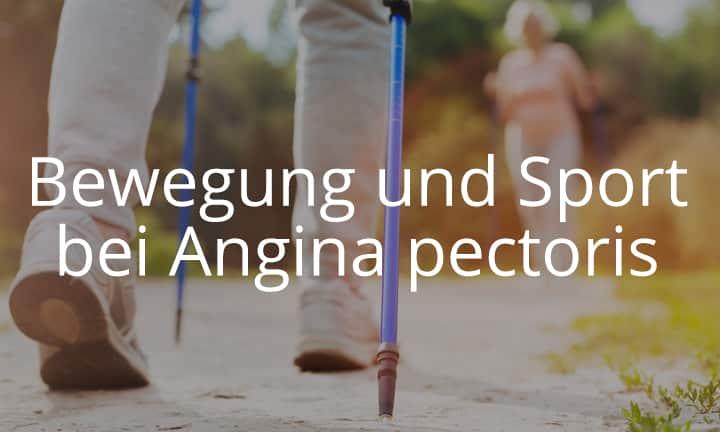 Bewegung und Sport mit Angina pectoris