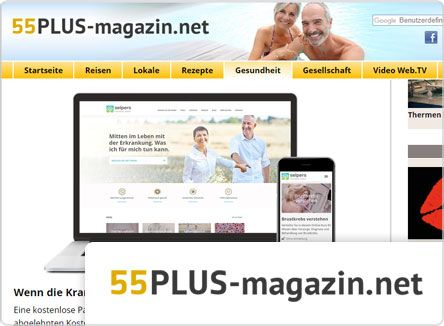 selpers in 55 plus magazin