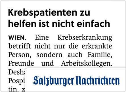 selpers in Salzburger Nachrichten