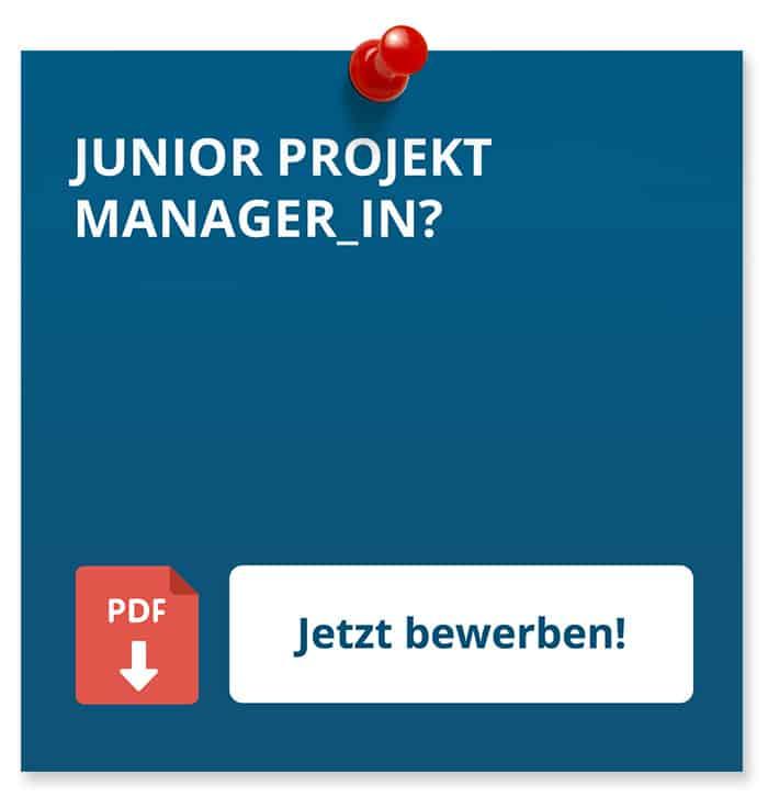 Junior Projektmanager_In Bewerbung