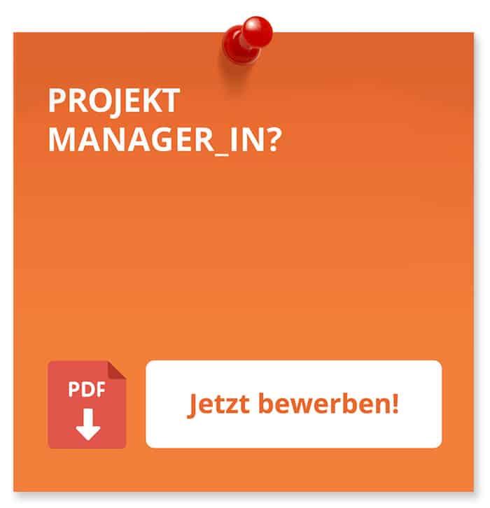 Projektmanager_In Bewerbung